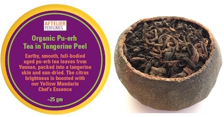 Pu-erh Tea in Tangerine Peel